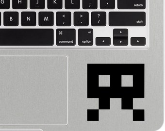 Space Invaders Decal, iPhone Sticker, iPhone Decal, Macbook decal, laptop decal