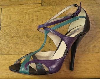 BOTTEGA VENETA shoes, size 38, t strap