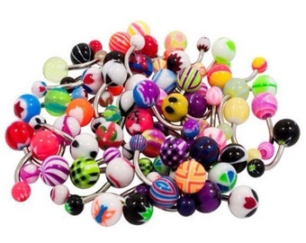 15 belly button rings