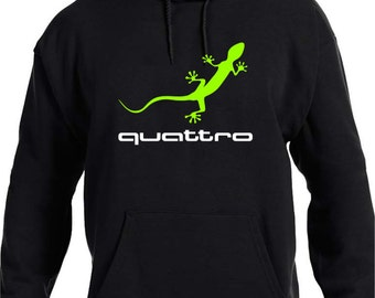 Audi Gecko Quattro Hoodie - Youth - Adult Sizes
