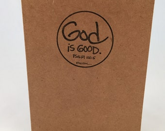God is Good blank notecards (set of 8)