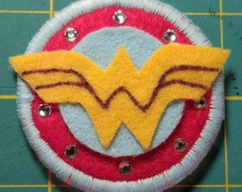 Wonder Woman Pin Badge Patch