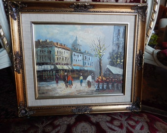 PARIS PAINTING by BARNETT