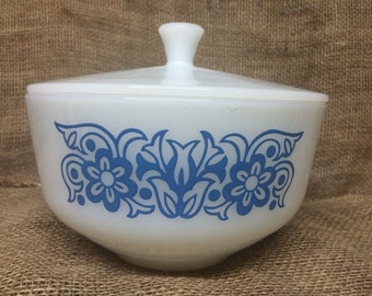 Vintage Federal Bowl with Lid