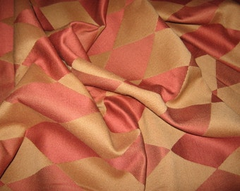 "Lovely Harlequin Pattern Fabric - Upholstery weight - 55"" wide; 46"" long"