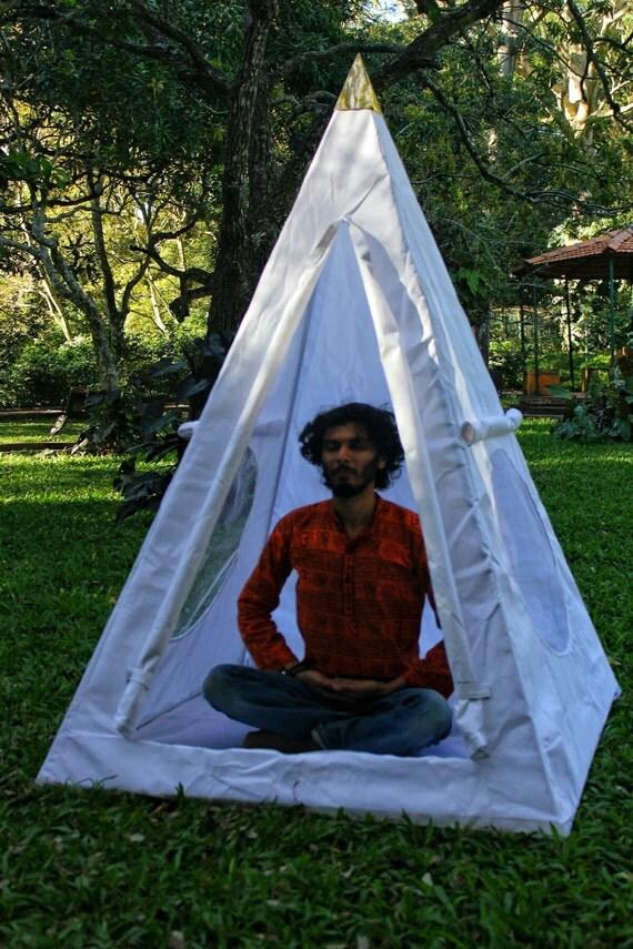 Like this item? & Nubian Aluminium framed Meditation Pyramid 4 Feet base Tent