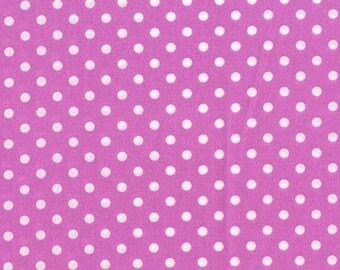 Orchid Dumb Dots, from Michael Miller Fabrics