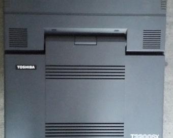 Toshiba T3200SX - Vintage Portable Computer- Plasma Screen