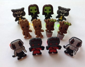 Guardians of the Galaxy Rings Party Favors Cupcake Toppers 12 Pieces