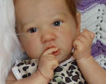 CUSTOM Reborn Baby Saskia by Bonnie Brown Girl or Boy Newborn Doll, You Choose all Details!