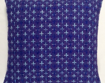 """Contemporary """"Linton Tweed' Shades of Purple Cushion Cover"""