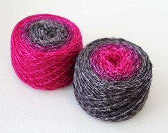 Grapes of Wrath, Evolution, Hand dyed Sport Sock 85/15 wool/nylon