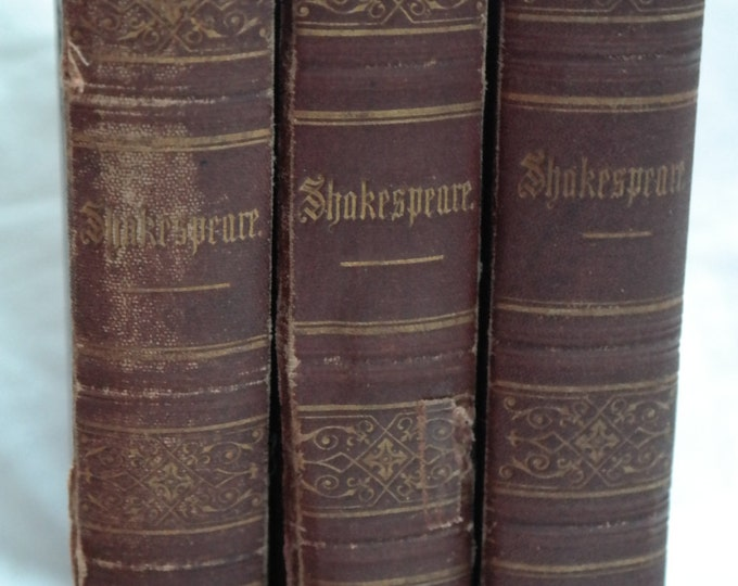 Shakespear, Shakespeare, William Shakespear works, translated in German 1871