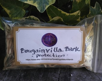 Wood Bark - Tree Bark - Bougainvillea Tree Bark - Protection - Bougainvillea Wood Bark