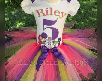 Teen Titans Go Inspired Birthday Outfit/ Any Age, Any Name