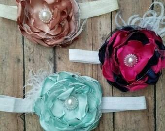 9 flower clips