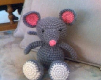 Baby Mouse Stuffed Plushie Toy