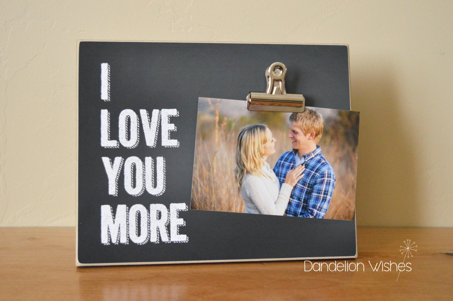Picture Frame Gift For Her I Love You More 8x10 Frame