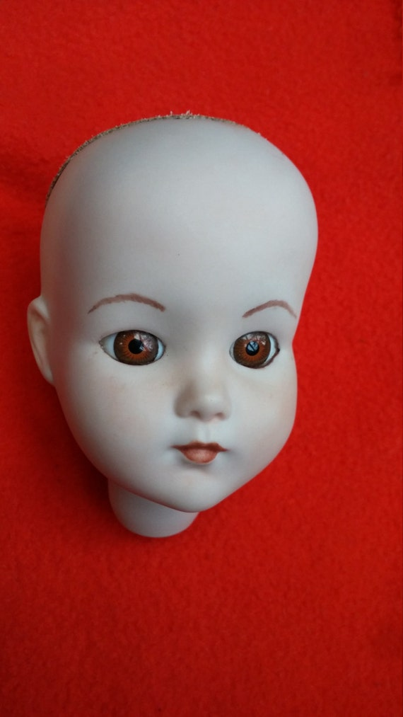 Porcelain Doll Parts Head Torso Limbs For 18 By