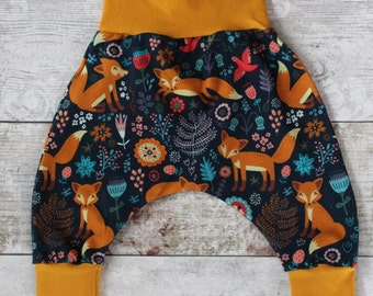 Peedie Boo 'Woodland Fox' harem trousers.....limited stock.