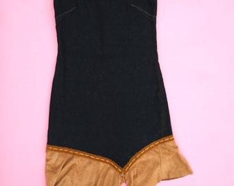 Flash Sale ~ Denim Dress Drop Waist