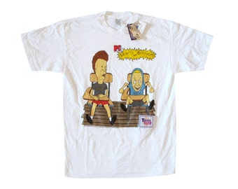 Vintage Beavis and Butthead Touch Tone T-Shirt