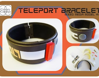 Blakes 7 teleport bracelet model kit science fiction retro