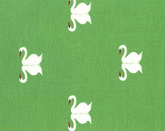 Sommer Summer Swan Grass- Sarah Jane Studios for Michael Miller floral fabric