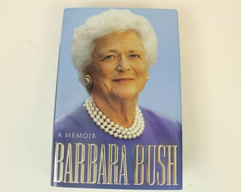 Barbara Bush, A Memoir, Hard Cover Book, Autobiography, 1994