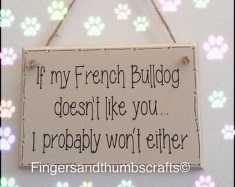French Bulldog Plaque