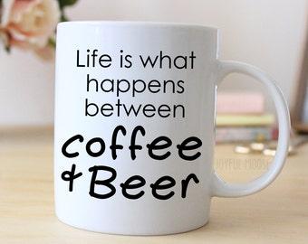 Funny Coffee Mug - Funny Beer Gift - Funny Saying Coffee Mug
