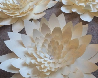 Giant Paper Lotus - Set of 4 (24 inch)