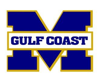 Mississippi Gulf Coast SVG DXF
