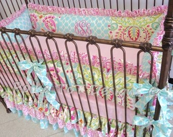Beautiful Kumari Garden Baby Bedding: Bliss