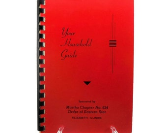 Your Household Guide Helpful Household Hints Red Book