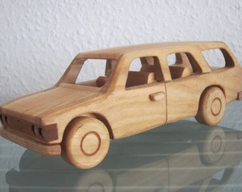 FSO 125P combi poland east german wood car model car very rare handmade