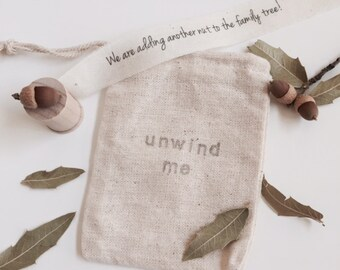 Set of 3, Pregnancy Announcement, We are adding another NUT... Secret Message, Gender Reveal, Family Tree, Acorn
