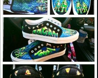 TMNT Custom Shoes