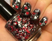 LIMITED STOCK Love Mice ~ 15 mL Full size bottle ~ Indie Handmade Nail Polish 5-Free Glitter Lacquer