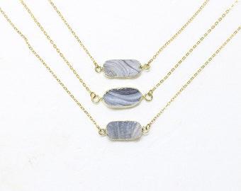 Rough Druzy Necklaces -- Druzy Choker Necklace -- drusy jewelry supplies wholesale geode bridesmaid necklaces YHA-248
