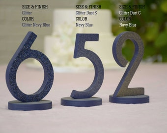 SET 1/15, Table Numbers for Wedding, Wooden Table Numbers, Rustic Wedding, Table Numbers