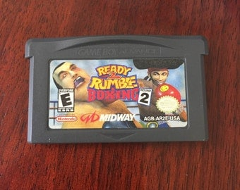 READY 2 RUMBLE ROUND 2 Nintendo Advance Sp Game