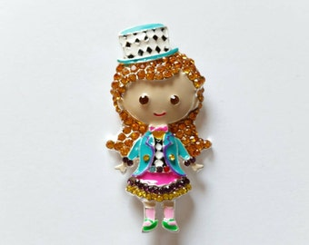 Mad Hatter Girl Needle Minder