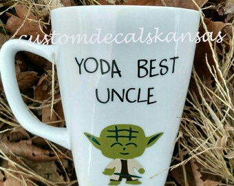 Yoda best Dad, Uncle, Mom, Sister, Friend. Fathers day, Mother's day, birthday, Gift.