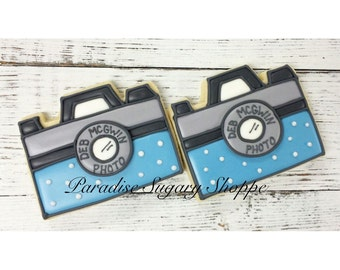 Camera Decorated Cookies - 1 Dozen