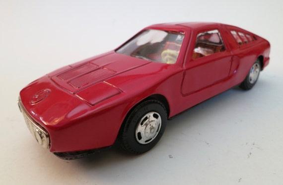 Mercede C111, Japanese, friction, tin, car.
