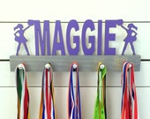 Personalized Cheerleading Medal Display- 12 or 20 inch