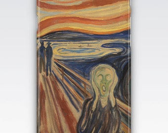 Case for iPhone 8, iPhone 6s,  iPhone 6 Plus,  iPhone 5s,  iPhone SE,  iPhone 5c,  iPhone 7  - The Scream by Edvard Munch iPhone