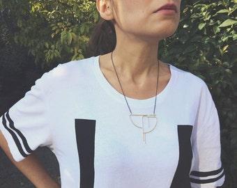No7 - Contemporary Jewelry - Handmade Geometric Jewelry Necklace - Contemporary Jewelry Necklace - Modern Jewelry Necklace - Unique Jewelry