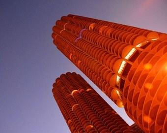 Marina City Chicago photograph